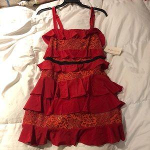 For Love and Lemons Red Dress